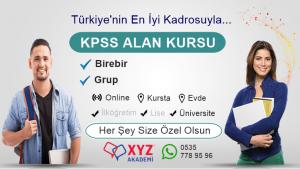 KPSS Alan Kursu