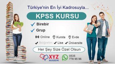 KPSS Kursu Gebze