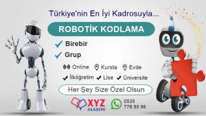Robotik Kodlama Kursu İzmit
